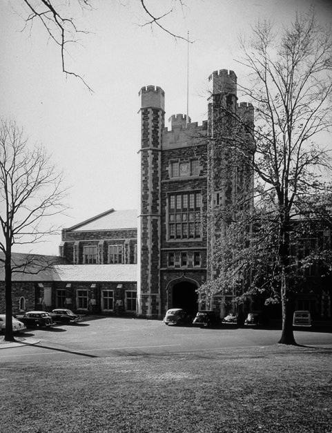 Evolution of the Campus:  1933-1960