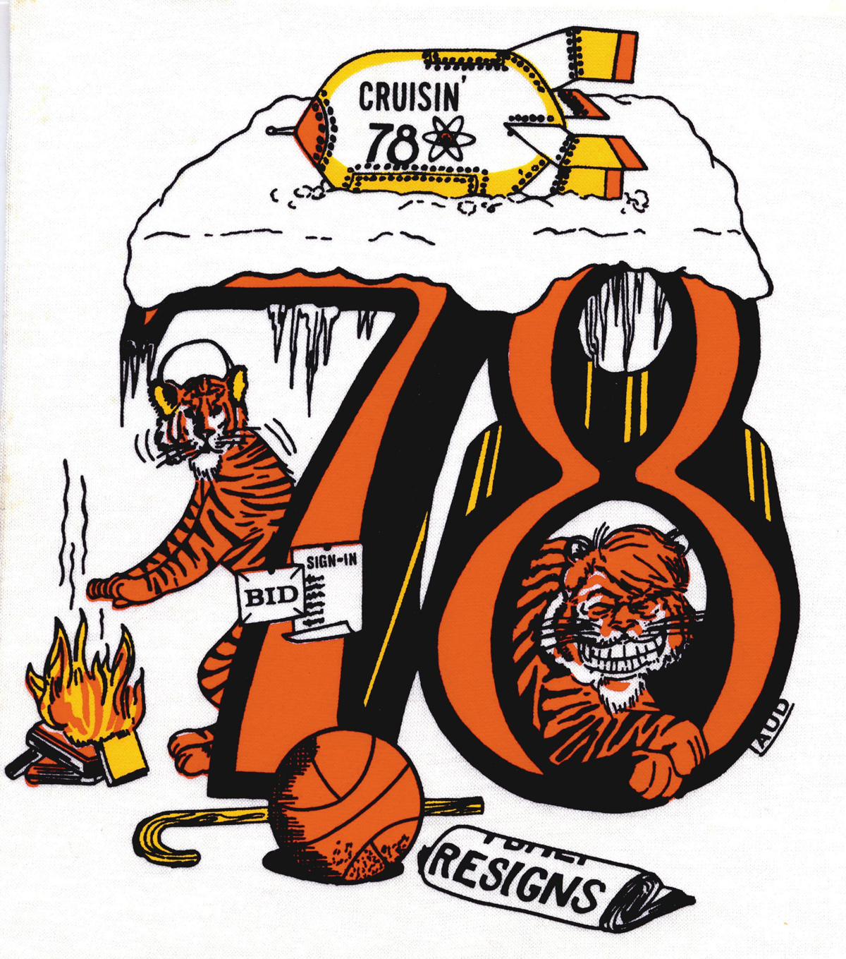 Beer Jacket 1978 Decal