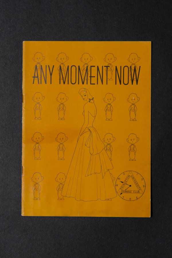 1940:  Any Moment Now Playbill