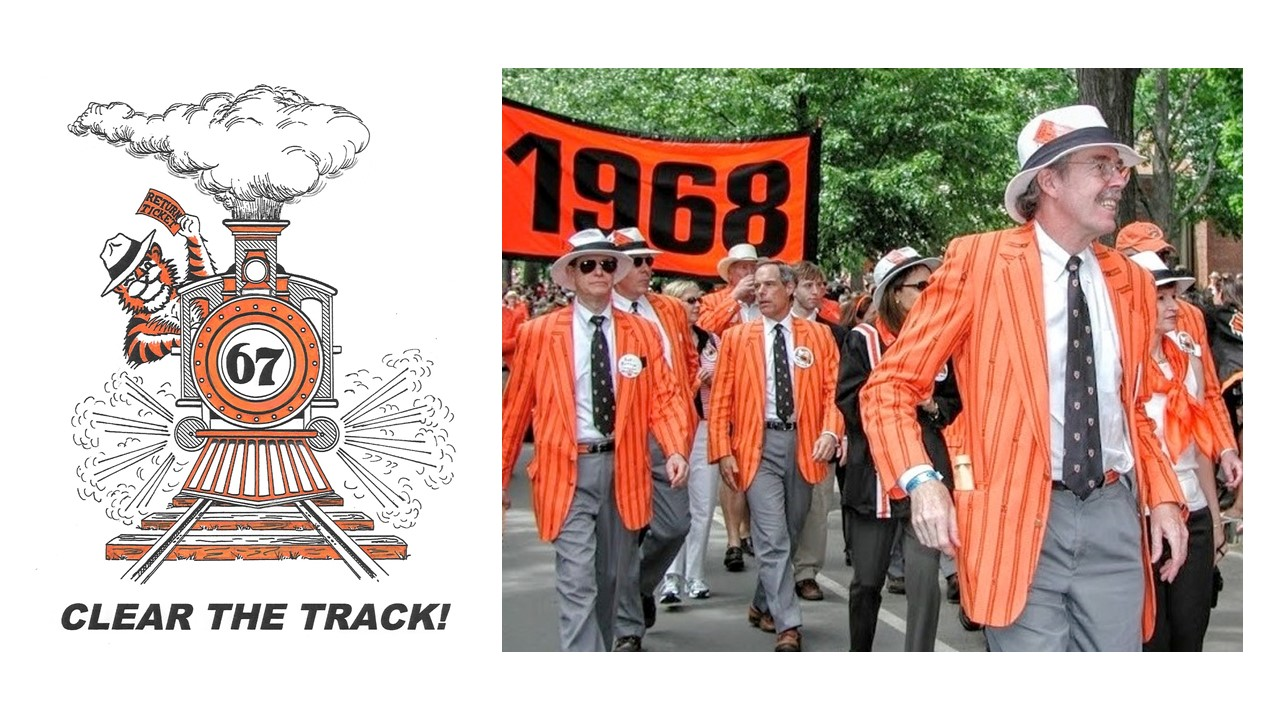 "1992:  Twenty-fifth Reunion ""Clear the Track!"""