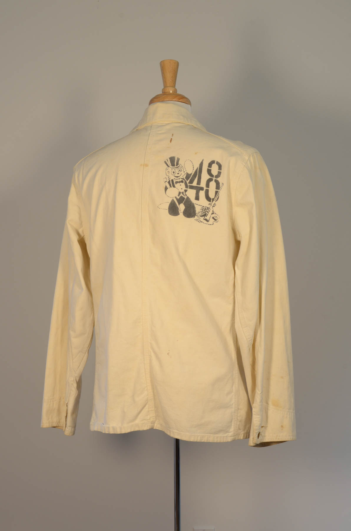 Beer Jacket 1948 Rear
