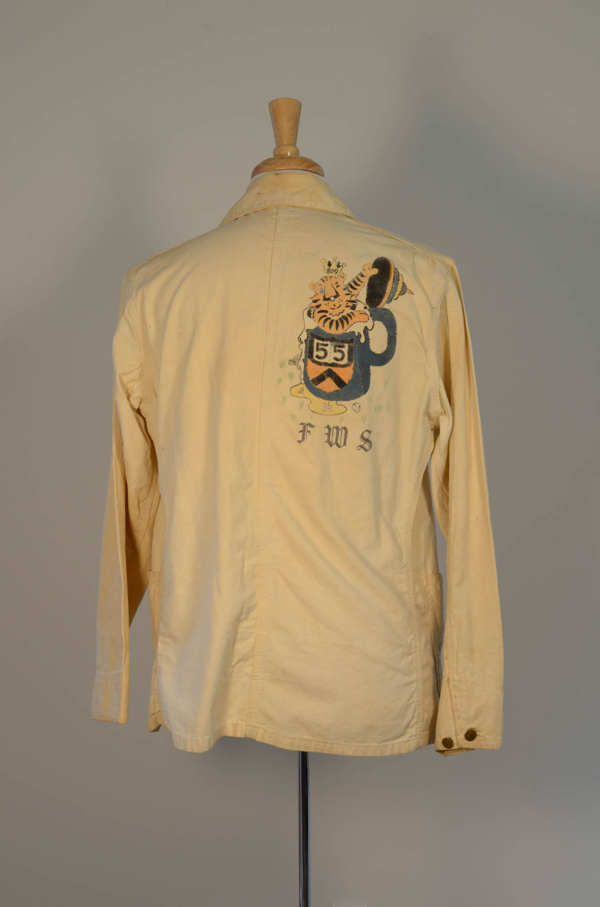Beer Jacket 1955 Rear