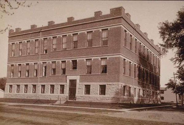 1891:  Chemical Laboratory (Aaron Burr Hall)