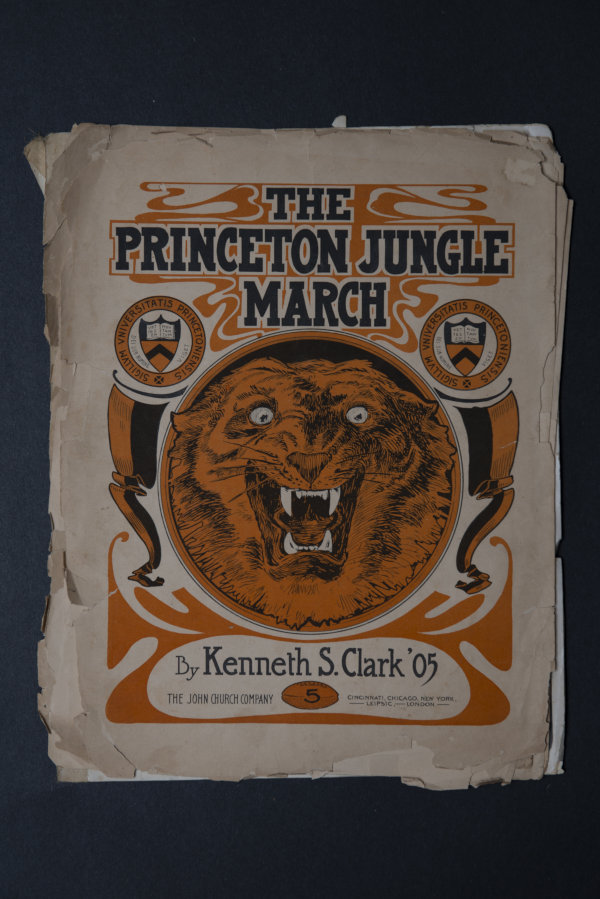 Princeton Fight Songs and the Origin of the Tiger