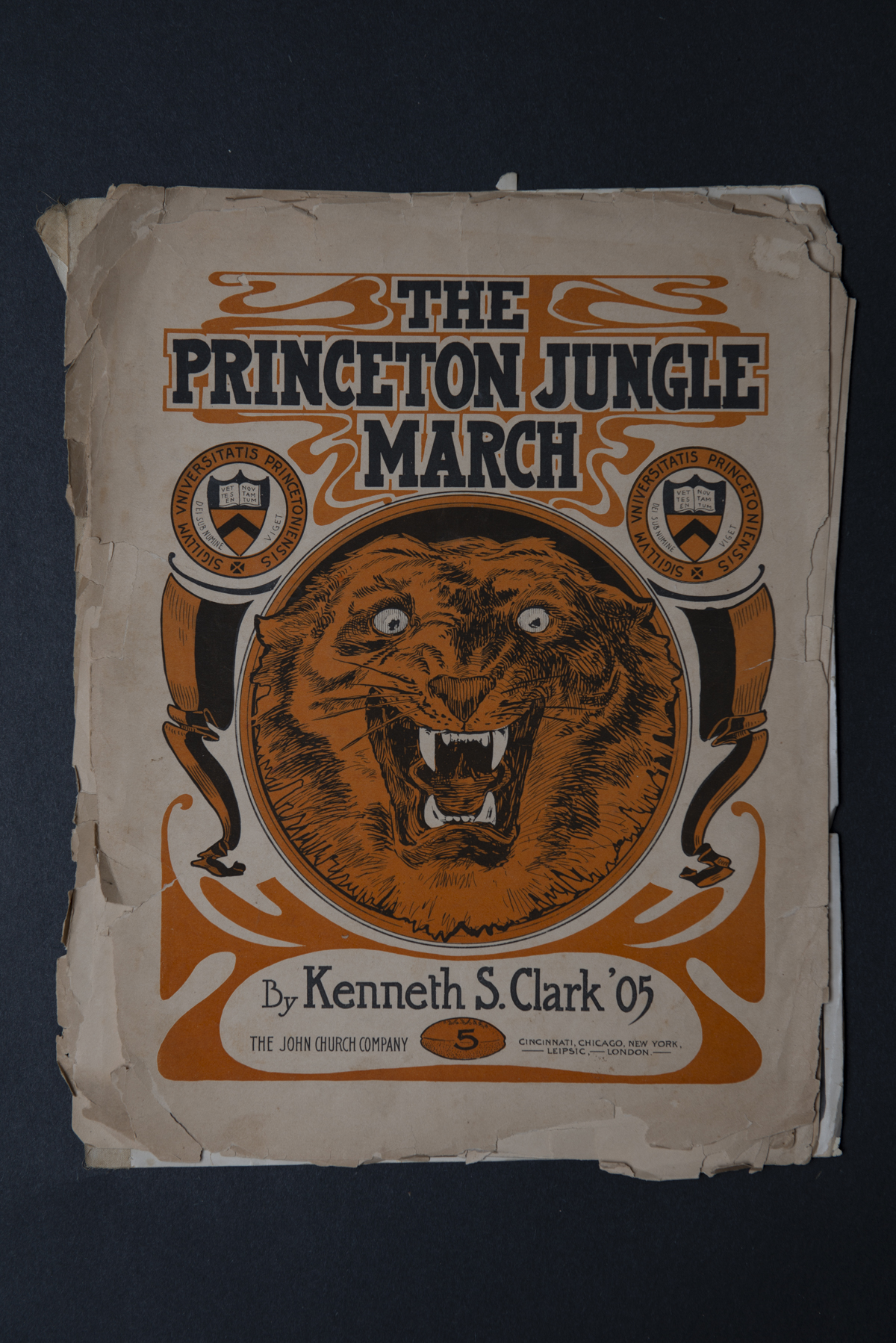 The Princeton Jungle March Score