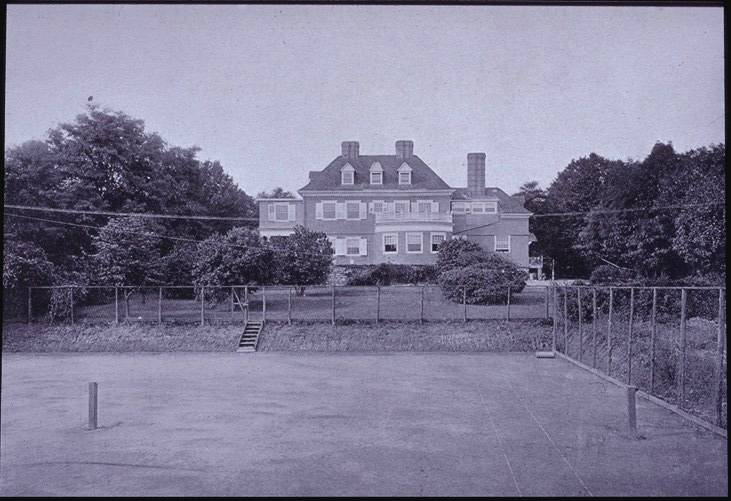 Quadrangle Club circa 1913