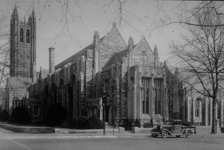 1917:  Madison Hall (Commons)