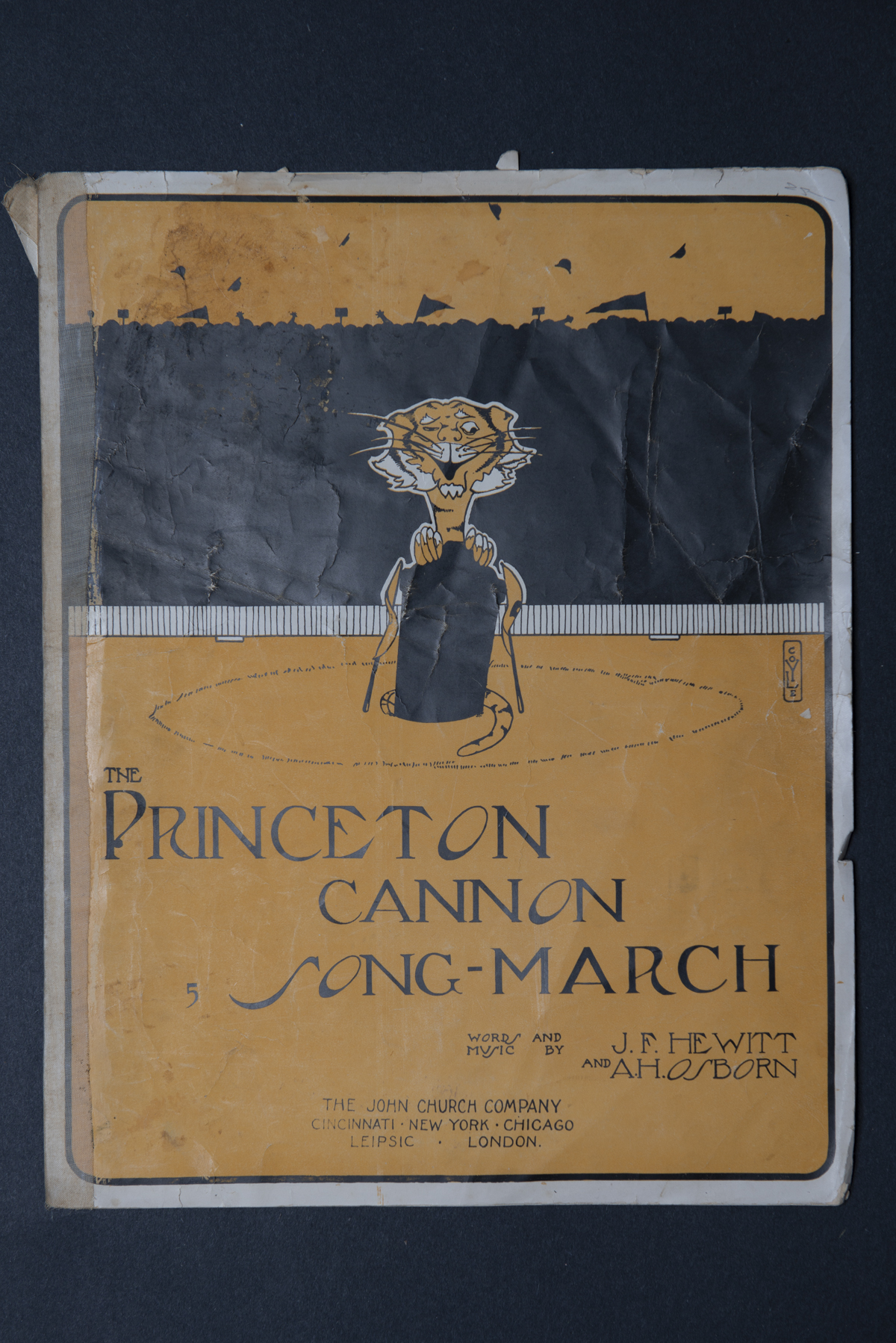 Princeton Cannon Song-March