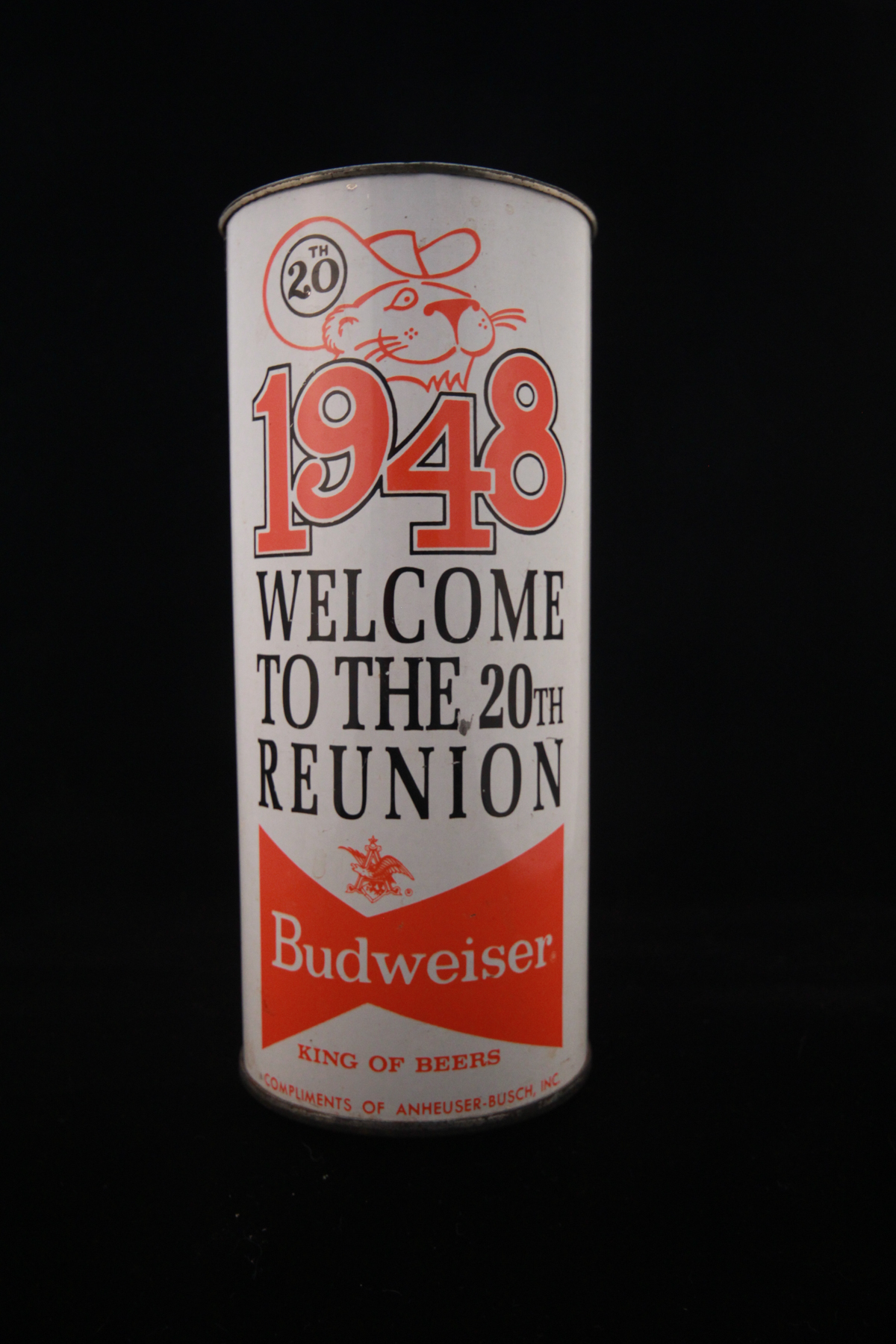 Beer Can 1948 20th Reunion