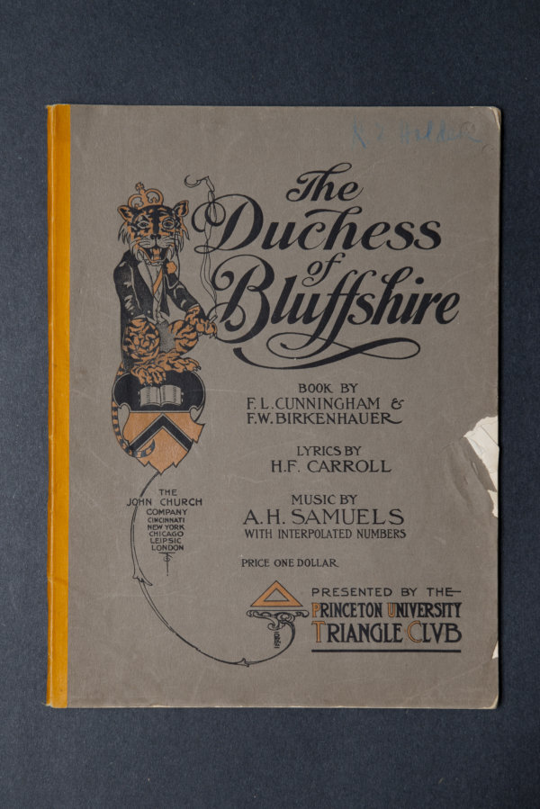 1909:  The Duchess of Bluffshire