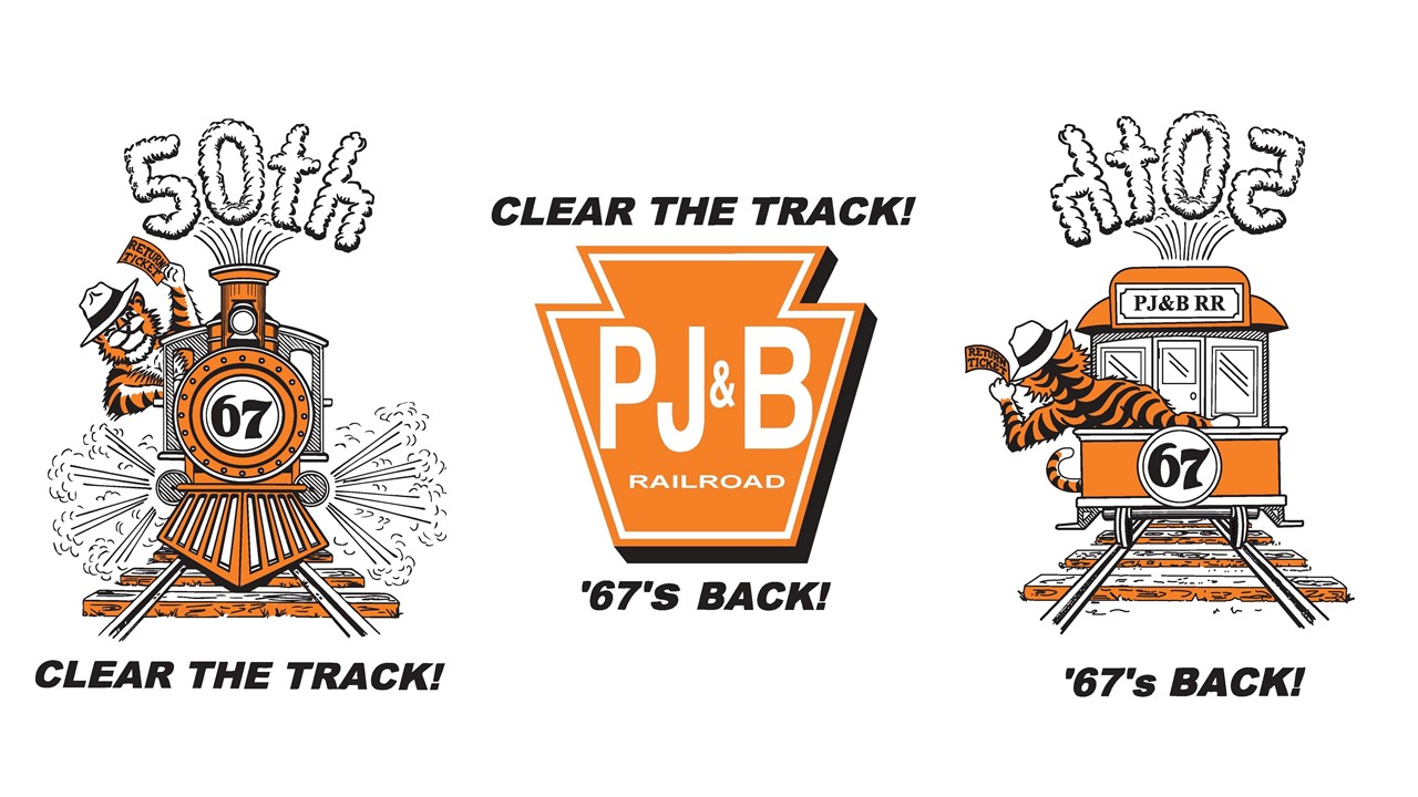 "1997-2017:  Thirtieth thru Fiftieth Reunions ""Clear the Track!  '67's Back!"""