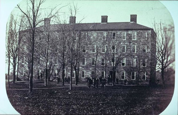 1836:  West College (Morrison Hall)