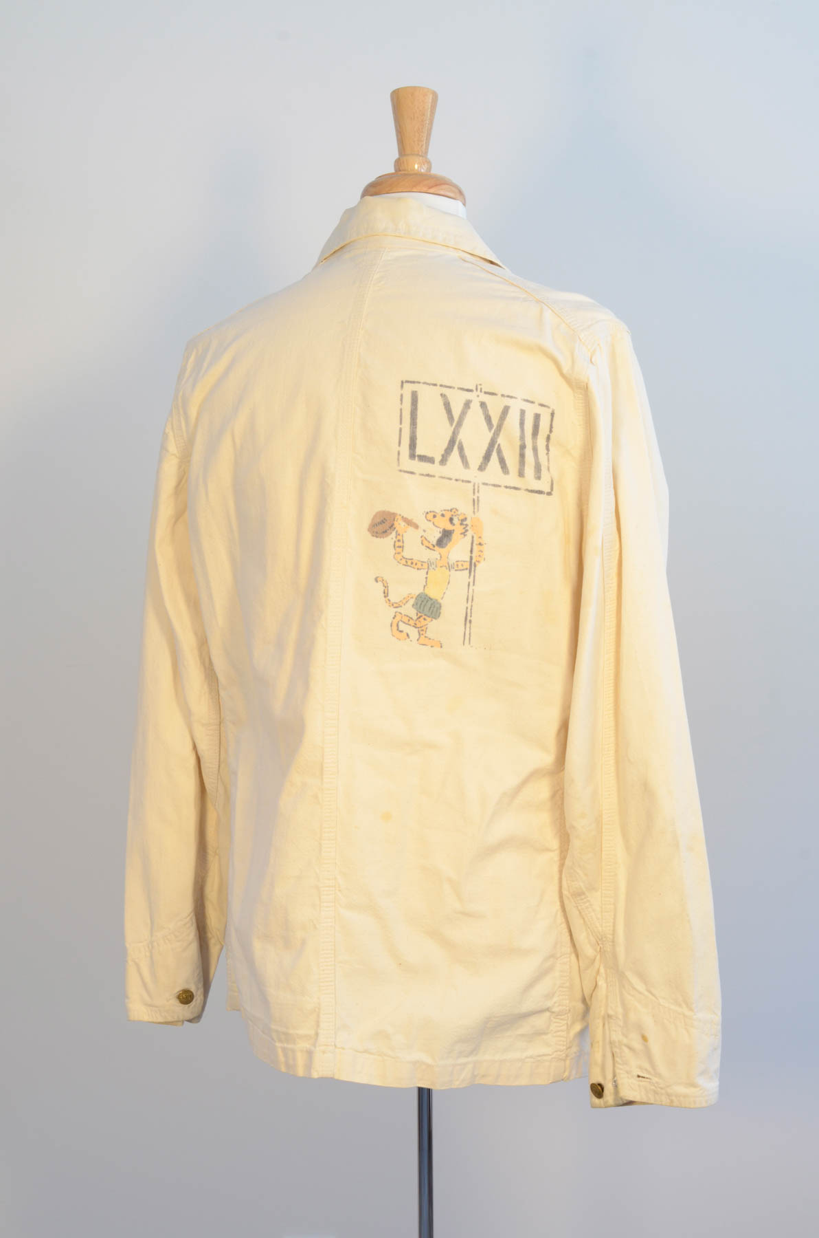 Beer Jacket 1972 Rear