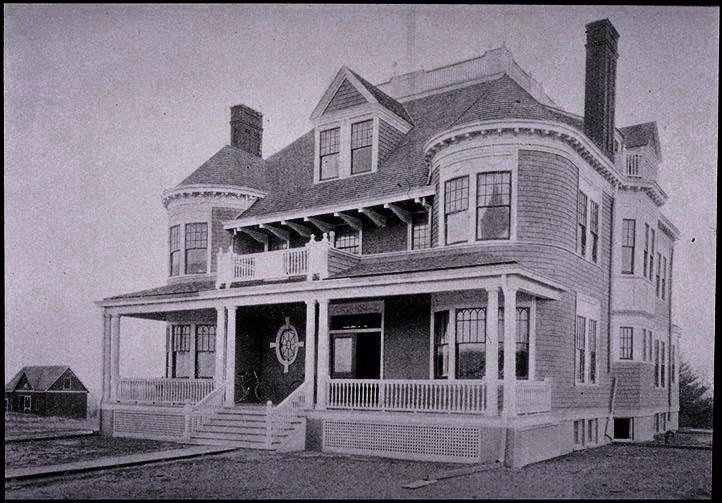 Cottage Club in 1895