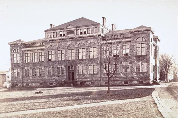 1870:  Dickinson Hall