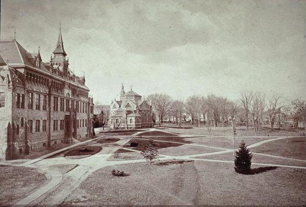 1873:  Chancellor Green Library