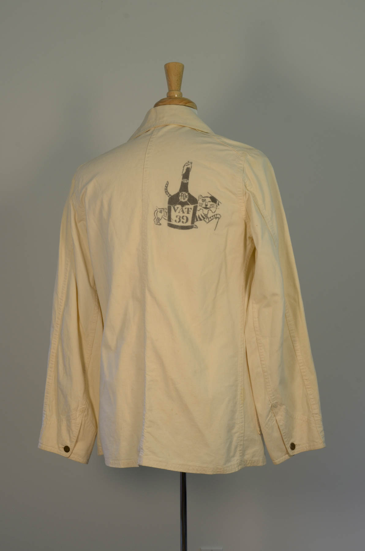 Beer Jacket 1939 Rear