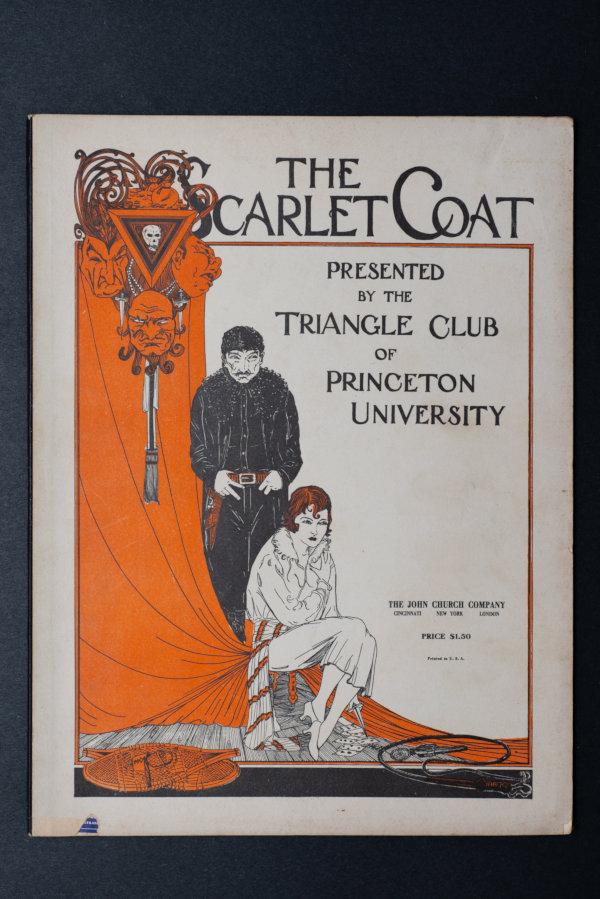 1925:  The Scarlet Coat